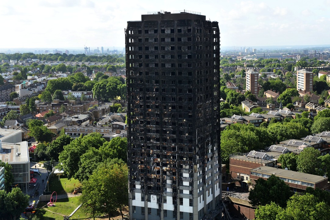 Was external cladding to blame?