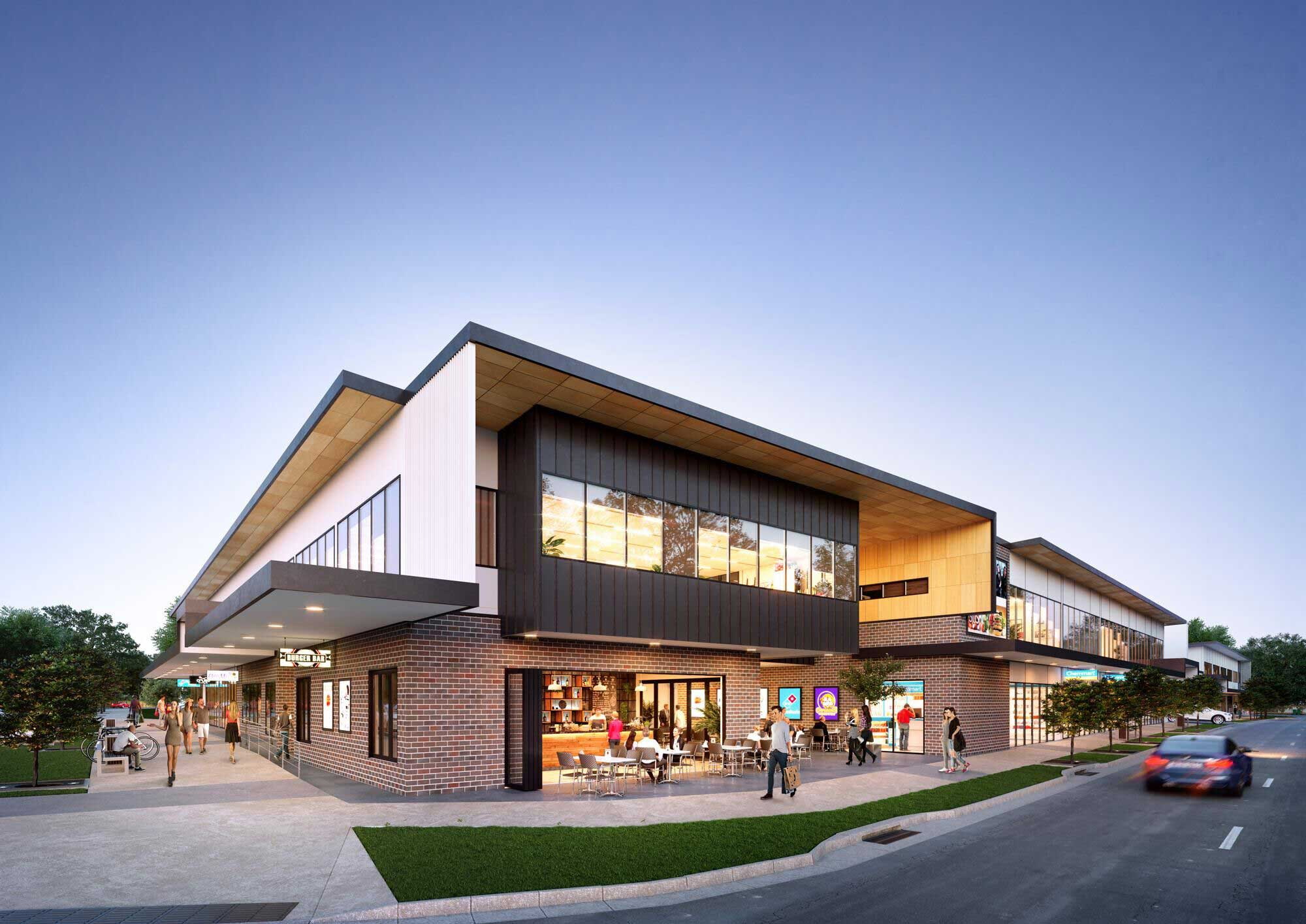 Central Sippy Downs Shopping Centre Development