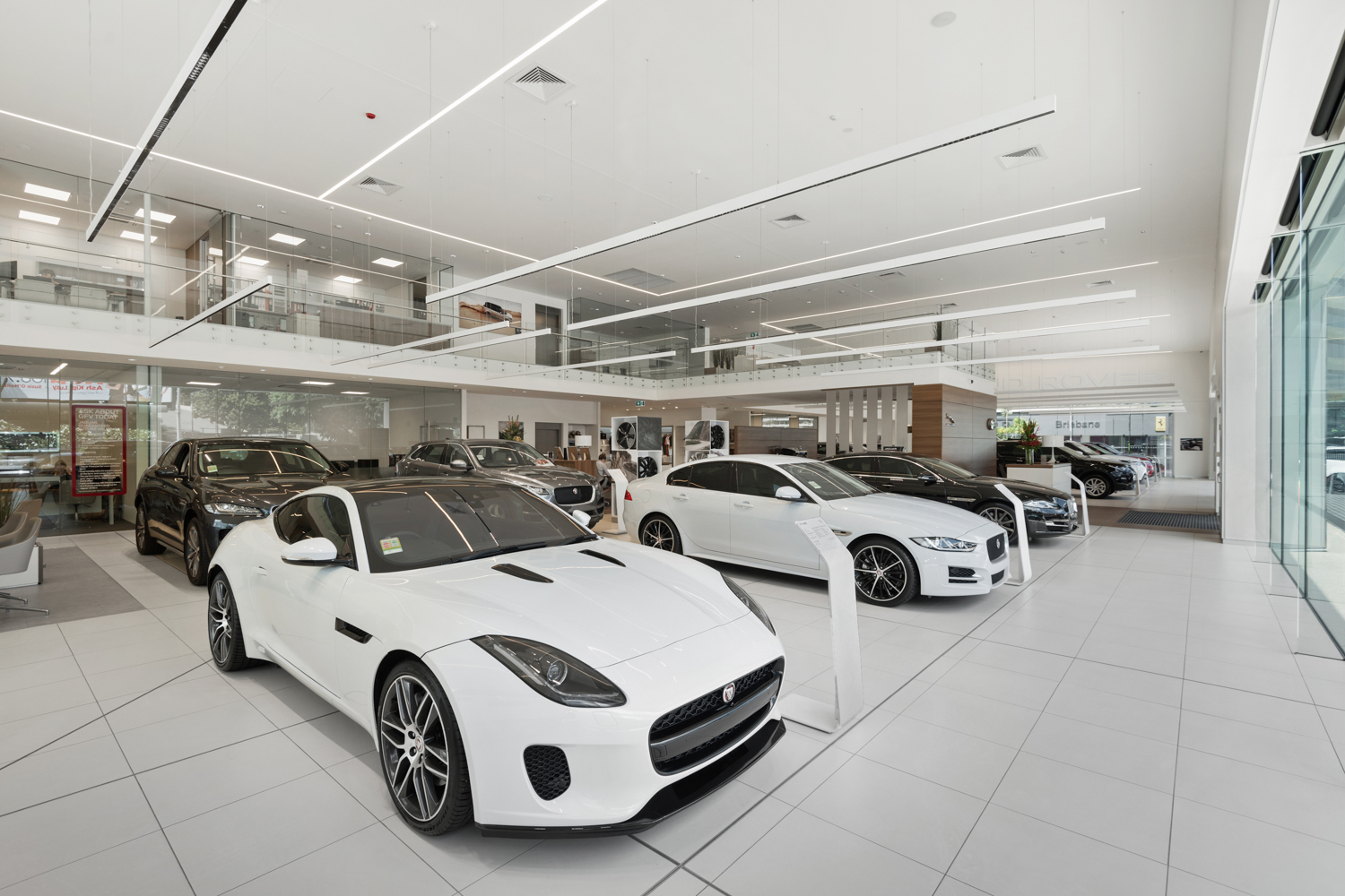 Jag & Landrover Showroom, Newstead