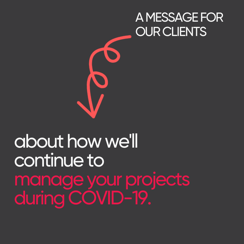 Information for DMA Engineers Clients: Our approach to project and operations management in response to COVID-19