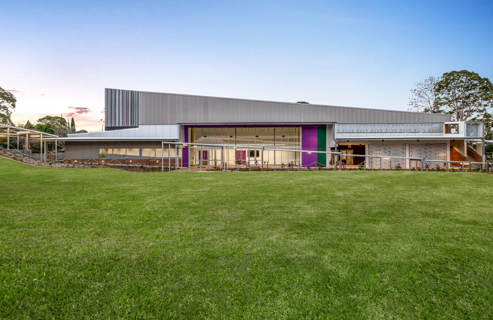 Centenary Heights State High School Performing Arts Centre photo by Hutchinson Builders