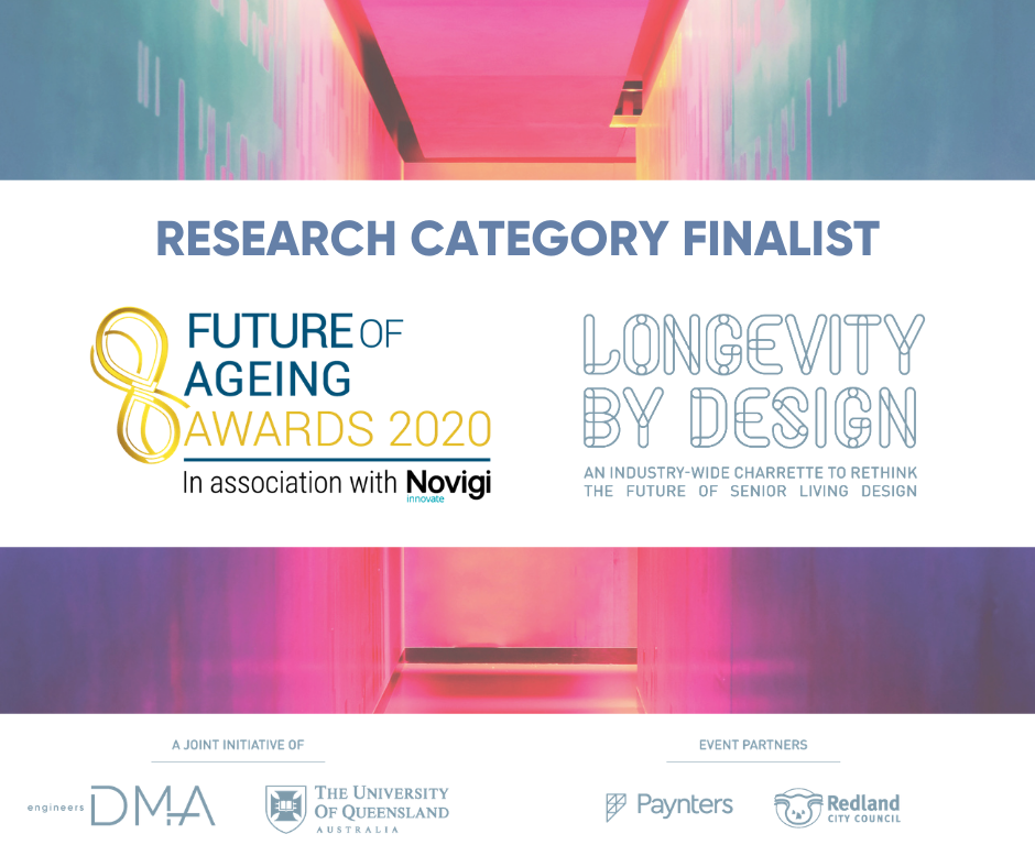 Longevity by Design named as finalist in Future of Ageing Awards