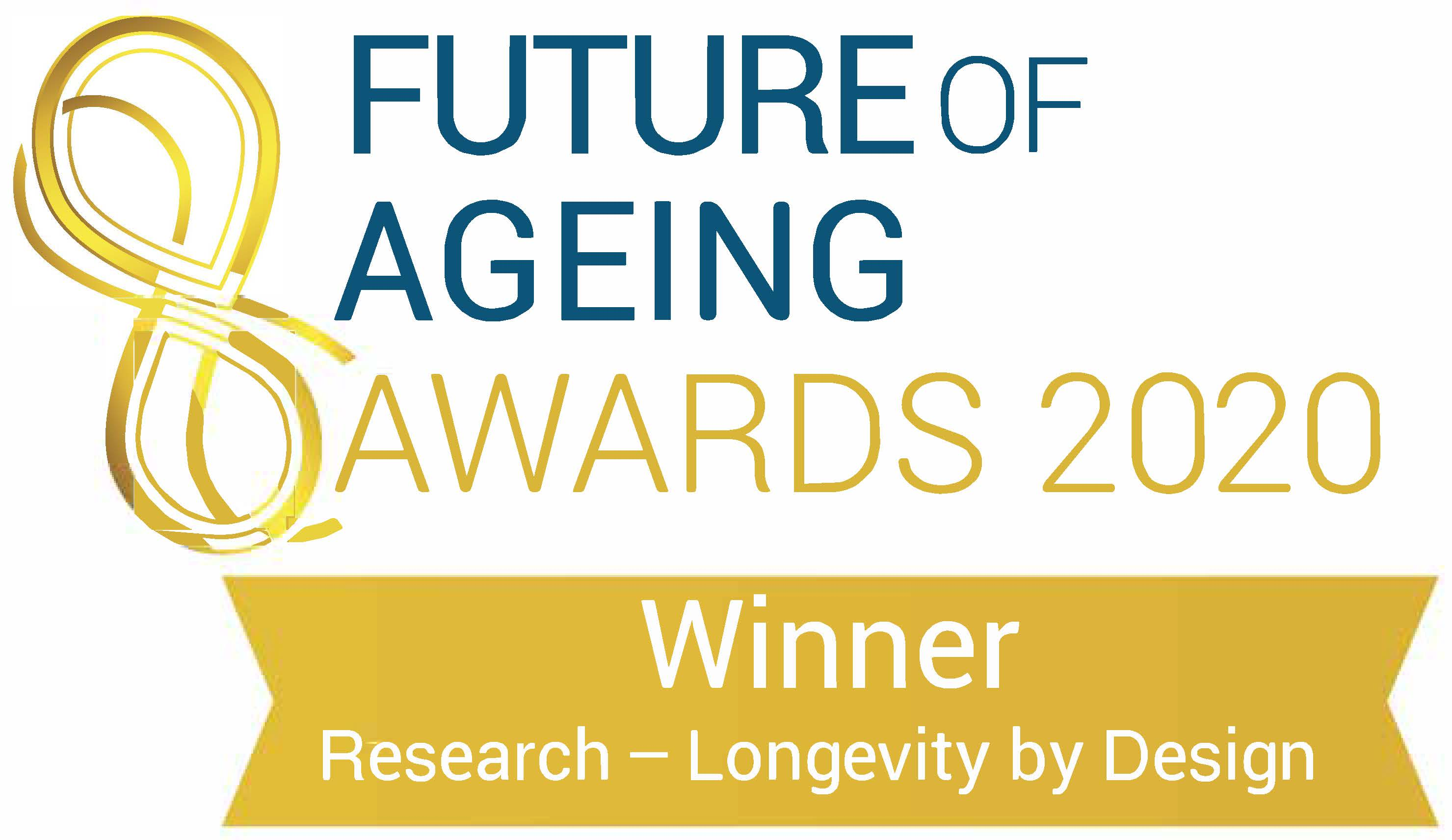 Longevity by Design wins Future of Ageing Award