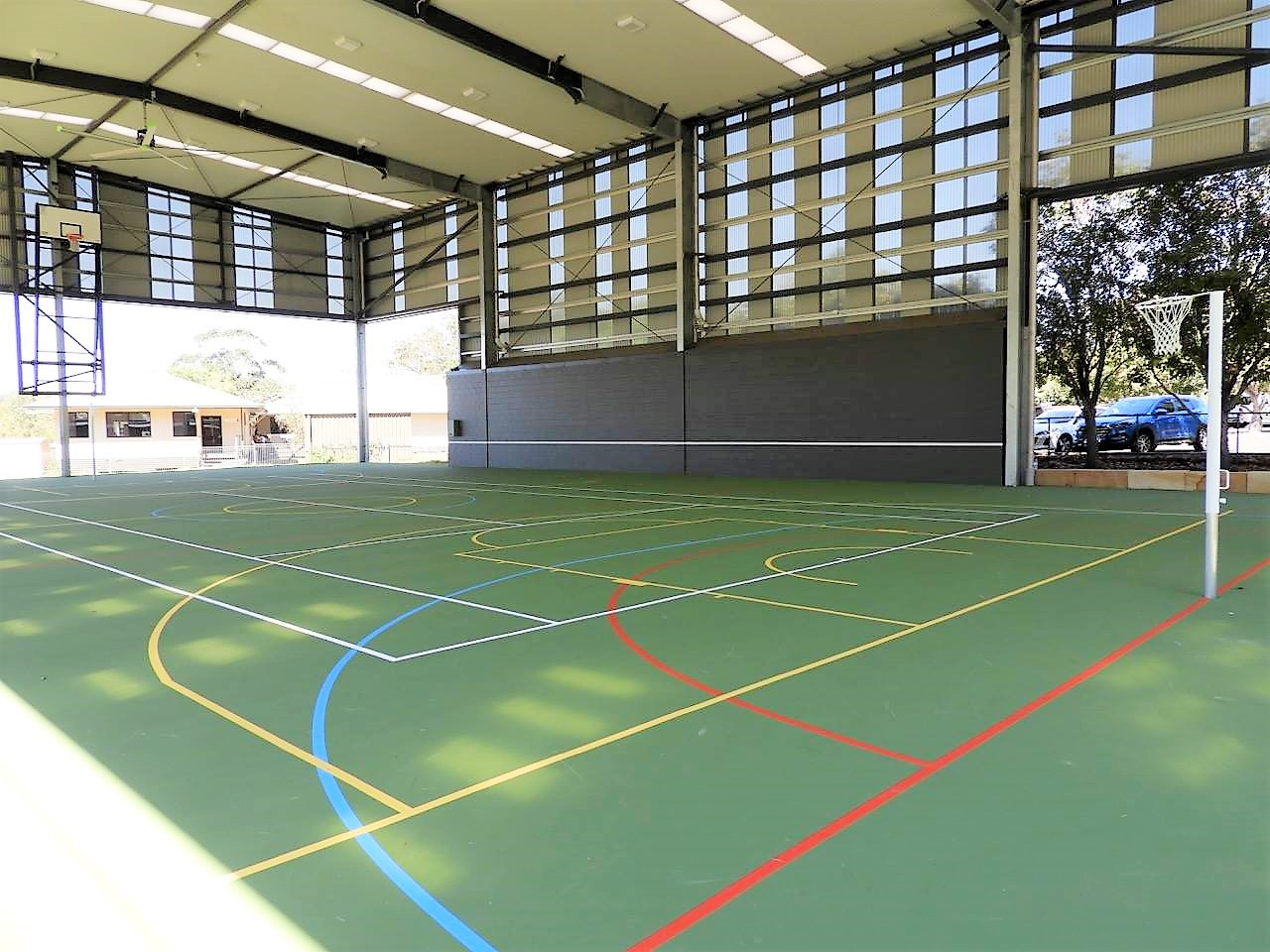 Brisbane Montessori School Sports Court
